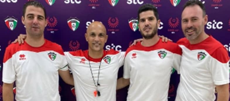 Andrés Carrasco seleccionador de la selección absoluta de Kuwait