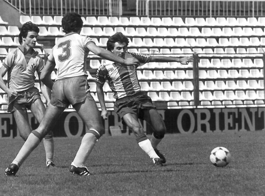 Toni Cortés, futbolista profesional en el RCD Espanyol de Barcelona