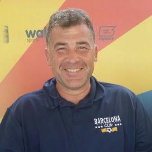 Alfonso Gallardo. Entrenador titulado de fútbol