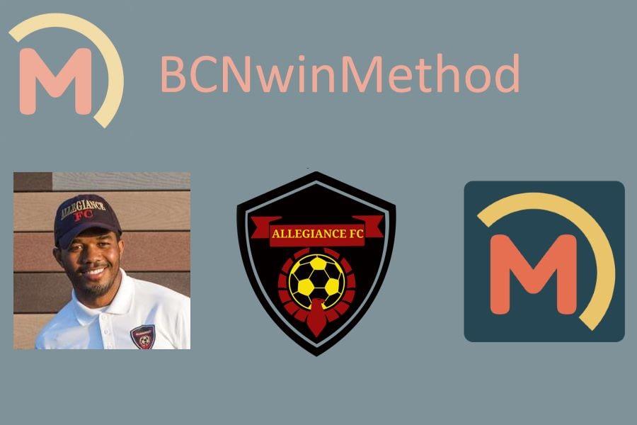 Edvaldo Pedro. Allegiance FC - BCNwinMethod. Técnico principal en Estados Unidos